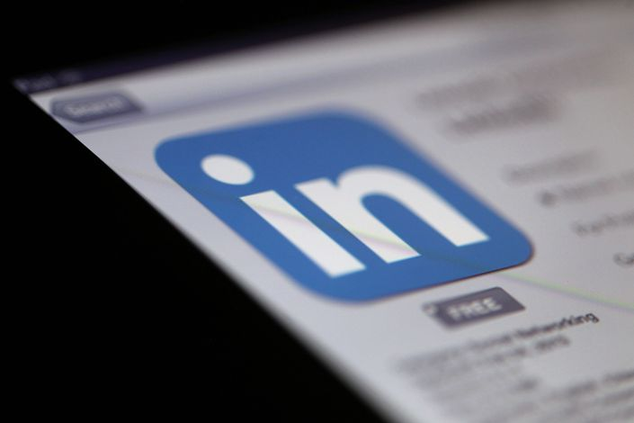 LinkedIn, which entered China in 2014, is one of the few U.S. social networking companies allowed in the country. Currently, the service has 52 million users on the Chinese mainland. Photo: Bloomberg