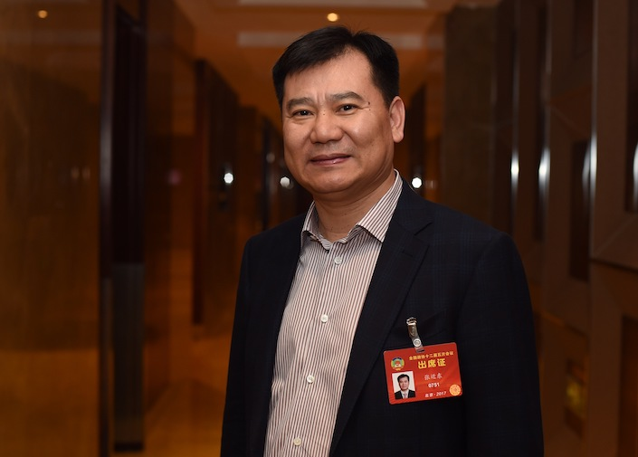 Zhang Jindong, chairman and CEO of Suning.com.