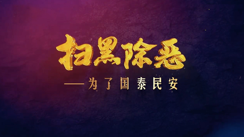 《扫黑除恶——为了国泰民安》 第三集 打伞破网