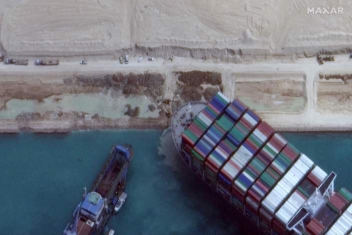 More than 10 tugboats were deployed in the rescue effort in the early hours Monday
