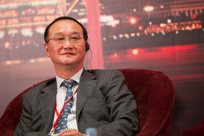 Xu Zhen, former chairman of the Shanghai Clearing House. Photo: VCG