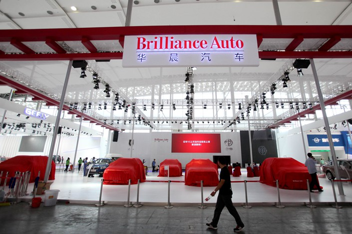 Shenyang-based Brilliance Auto started bankruptcy restructuring in November after it failed to repay money due creditors.