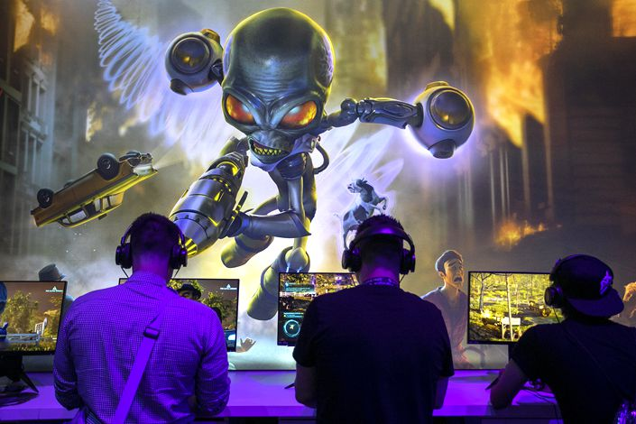 While the film and TV industry were suffering during the pandemic, video game developers were thriving. Photo: VCG