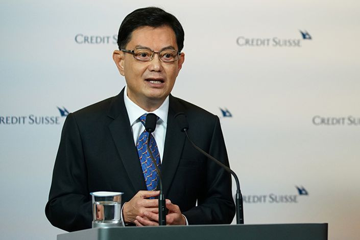 Singapore Deputy Prime Minister Heng Swee Keat. Photo: Prime Minister's Office of Singapore