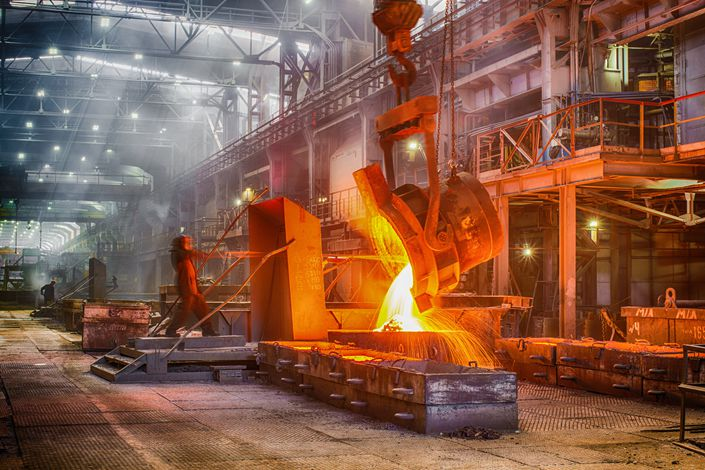 A total of 164 state-owned and private enterprises in the steel, coking coal and ferro-alloy industries in Inner Mongolia have been ordered to cut their capacities through 2023. Photo: IC Photo