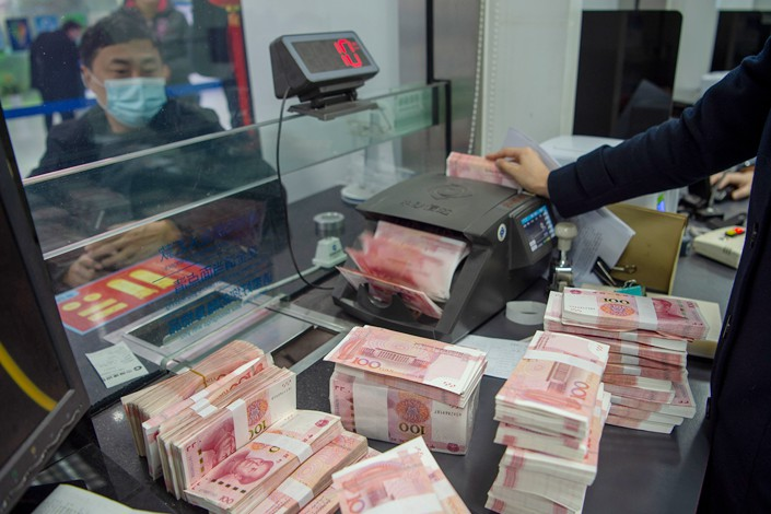 Headline new yuan loans recovered seasonally to 2.73 trillion yuan in March, in line with UBS expectations. Photo: IC Photo