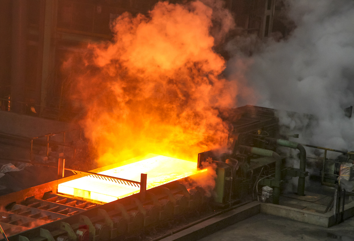The China Iron and Steel Association said steel supply and demand are in balance.