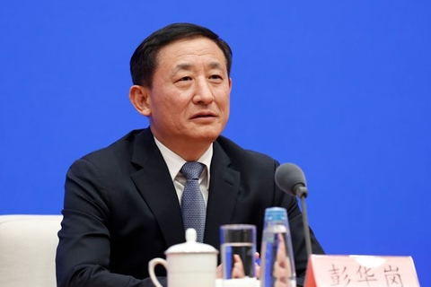 Peng Huaguang, secretary general of the State-owned Assets Supervision and Administration Commission. Photo: SASAC
