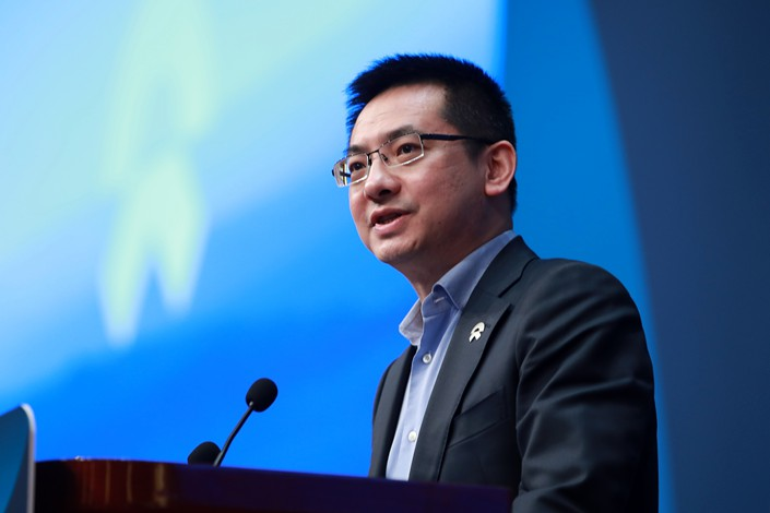 Qin Lihong, Nio's president and co-founder. Photo: VCG