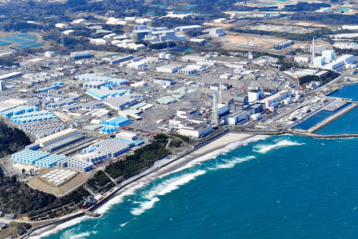 nullThe Fukushima Daiichi Nuclear Power Plant on April 12 in Fukushima, Japan. Photo: VCG