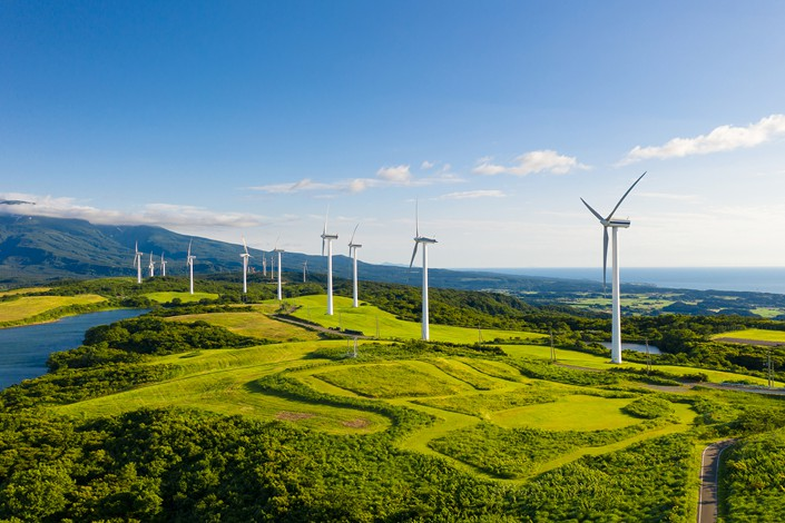 The PBOC said the removal of fossil energy projects aims at making China's green bond standards stricter. Photo: VCG