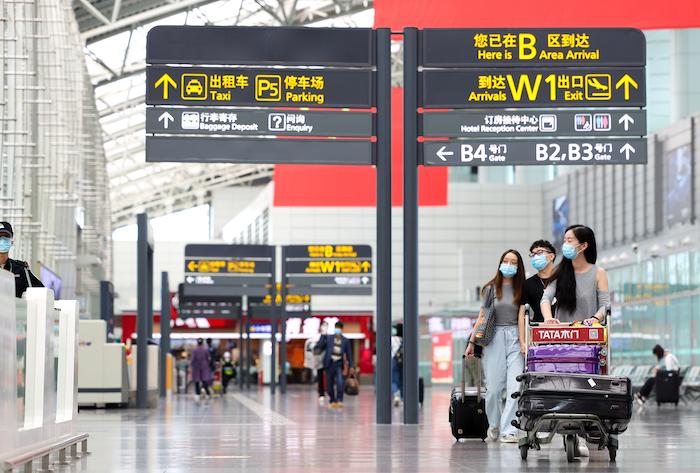Baiyun International Airport in Guangzhou