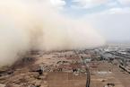 今年第五次大范围沙尘天气再袭北方 多地大风降温