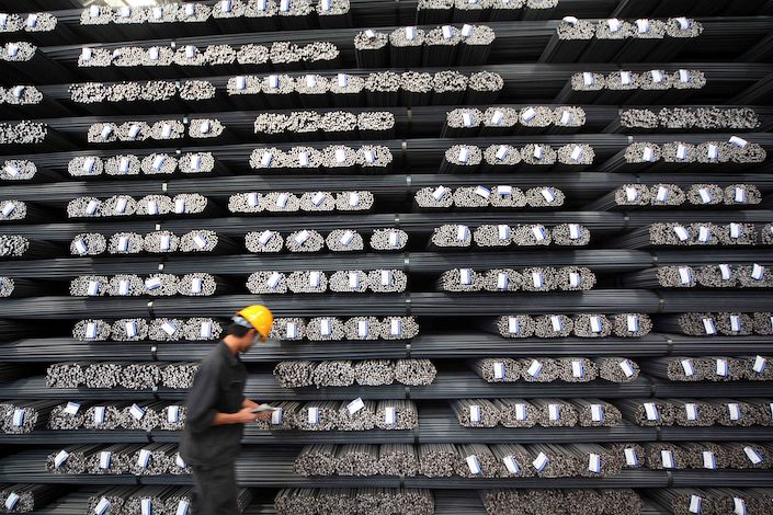 China churns out half the world's steel and is the biggest exporter