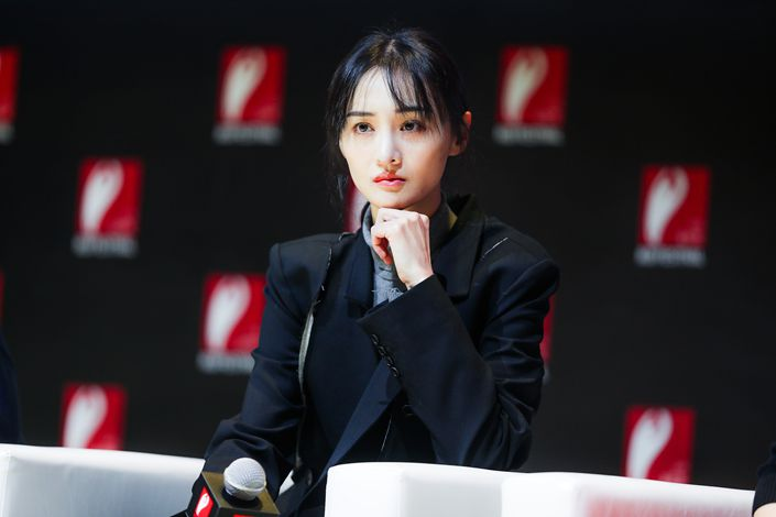 Actress Zheng Shuang. Photo: VCG