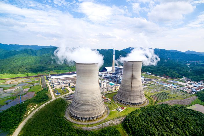 As of April 28, 65.9 billion yuan in carbon-neutrality bonds had been issued on the two markets, as well as 17.2 billion yuan in carbon-neutrality asset-back securities. Photo: VCG