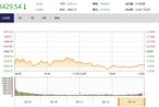 今日收盘:通胀担忧吓跌美股 沪指下挫0.96%