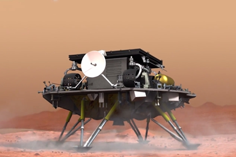 Update: China Becomes Second Nation to Land on Mars