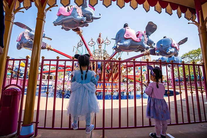 Hong Kong Disneyland reopens in February this year. Photo: VCG