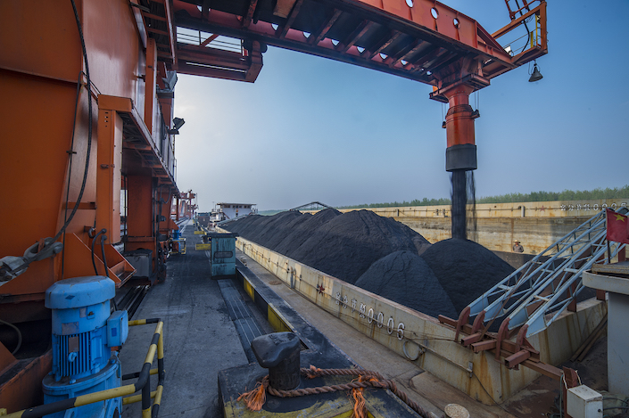 China produced 1.294 billion tons of raw coal from January to April, up 11.1% from the same period last year