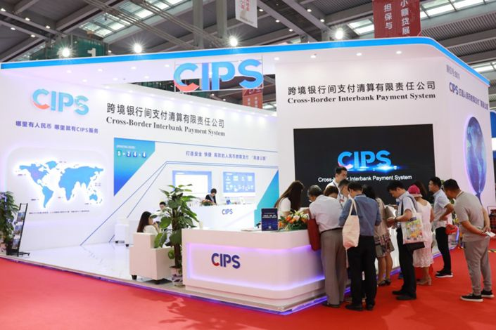 pictureThe CIPS is a worldwide clearing and settlement system for cross-border yuan-denominated transactions. Photo: CIPS