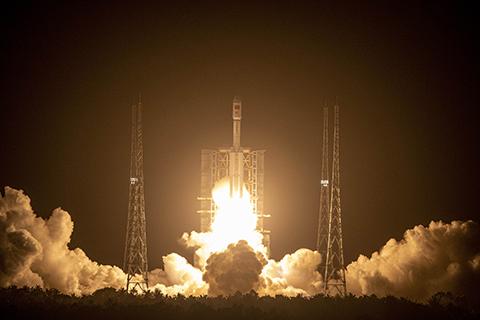 天舟二号成功发射 将约6.8吨物资运往空间站