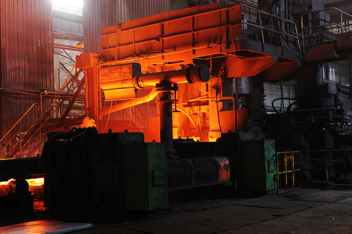 Tangshan accounted for 13.7% of China's total crude steel production last year with output of 144 million tons
