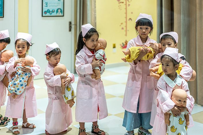 China's population will peak regardless of policy changes. Photo: VCG