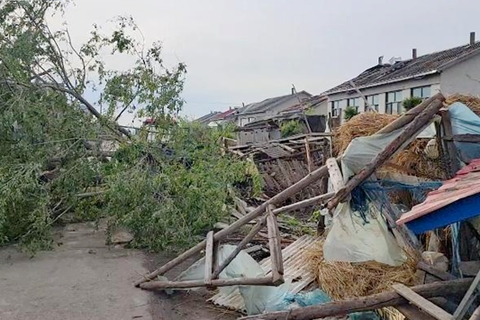 黑龙江尚志遭遇龙卷风 致1人死亡16人受伤