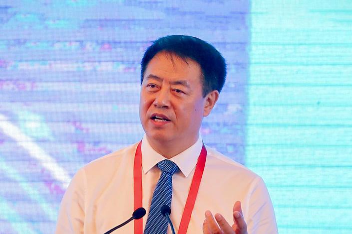 Yang Xiaoming, chairman of China Biotechnology Technology. Photo: VCG
