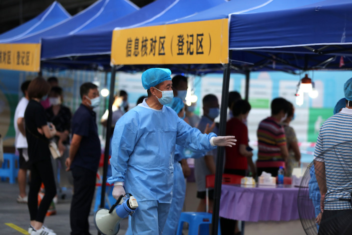 Since the city identified the first case May 21, Guangzhou has reported 98 confirmed infections in addition to 10 asymptomatic cases.