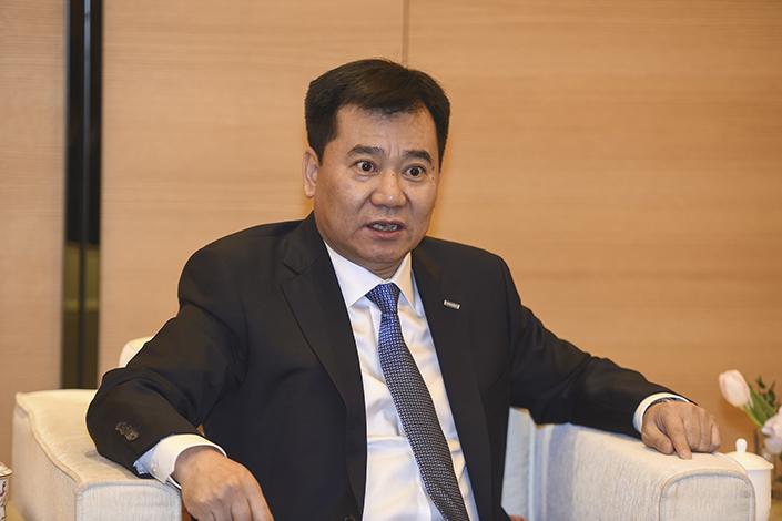 Zhang Jindong, Chairman of Sunning.com. Photo: VCG
