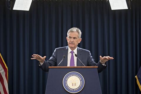 美联储大幅提高通胀预期 鲍威尔称供应瓶颈是暂时性的