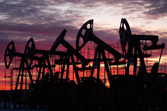pictureOil pumping jacks, also known as