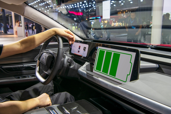 """China has banned """"in principle"""" the use of retired electric vehicle batteries for energy storage, the country's energy agency has said. Photo: IC Photo"""