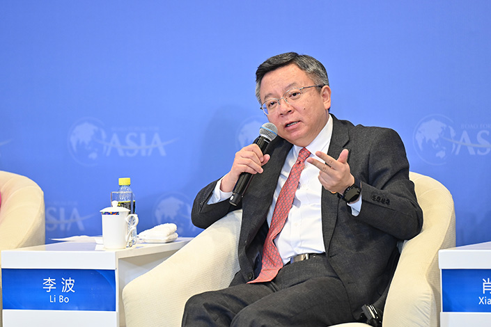 Li Bo, deputy governor of the People's Bank of China, will be the third deputy managing director of the IMF from China. Photo: VCG