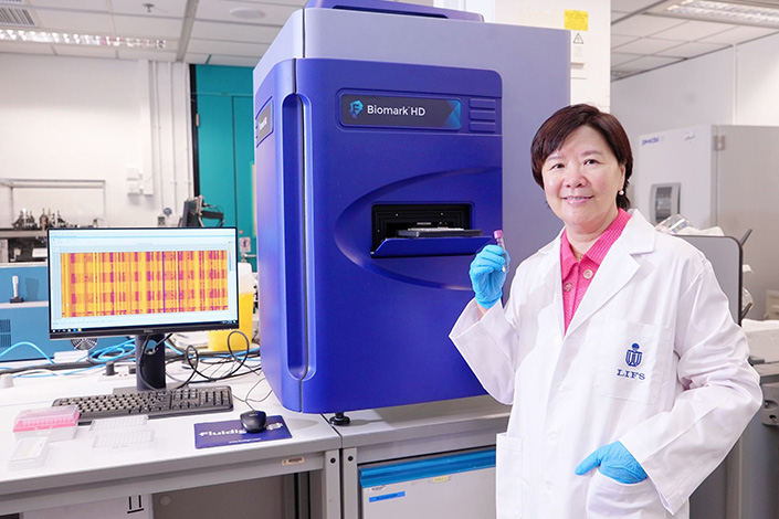 An international team led by researchers in Hong Kong says they've developed a blood test that can be used to spot the early signs of Alzheimer's disease. Photo: Hong Kong University of Science and Technology