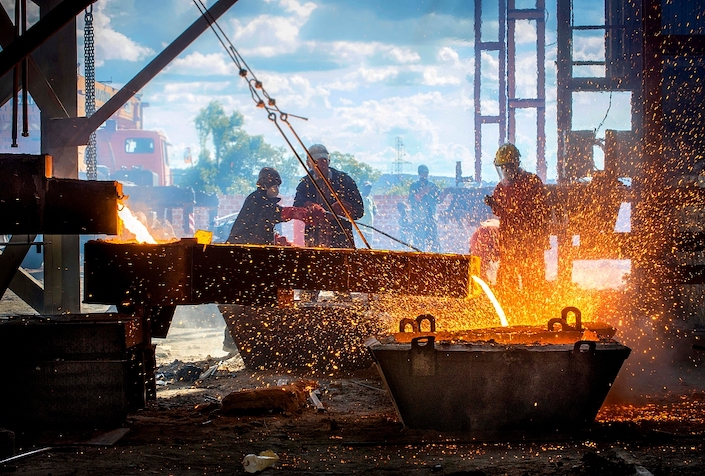 Major steel companies recorded combined profit of 184.3 billion yuan between January and May, up 286% year on year, according to the CISA.