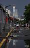 北京:雨后晚霞 看见