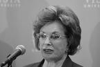 萨达特遗孀杰罕逝世飨军礼葬仪,87岁|讣闻