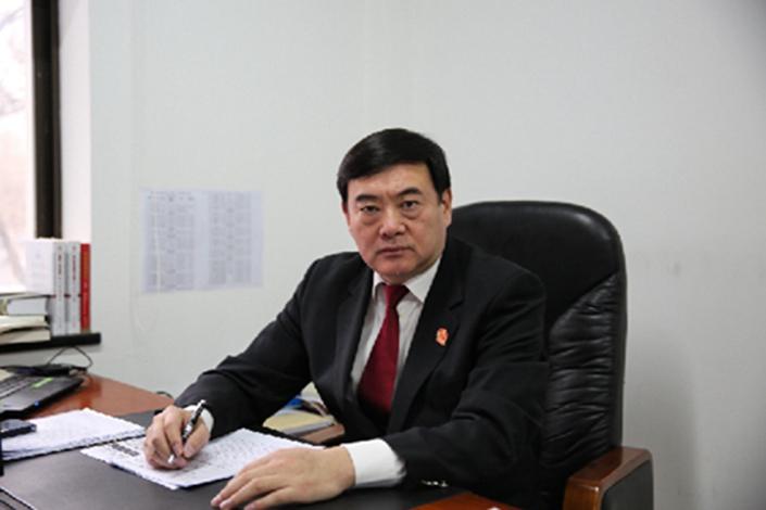 Meng Xiang, director of the Supreme People's Court enforcement bureau.