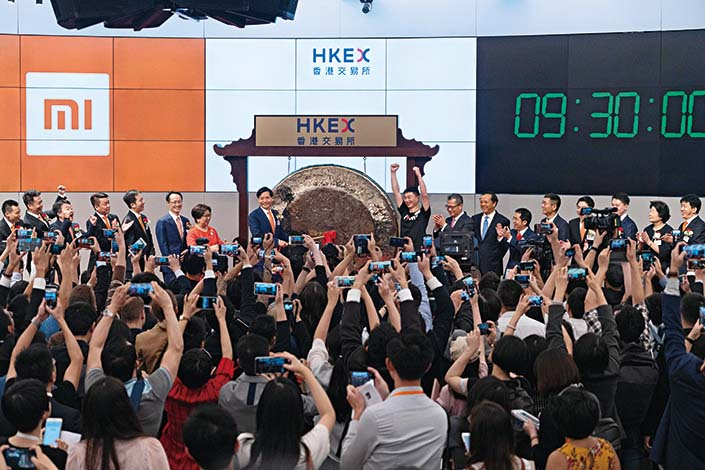 """The Hong Kong Stock Exchange may benefit from Beijing's crackdown on foreign share sales because it doesn't count as """"foreign"""" under the central government's new cybersecurity rules. Photo: VCG"""