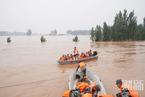 暴雨北移,救援队在新乡卫辉转移群众|看见