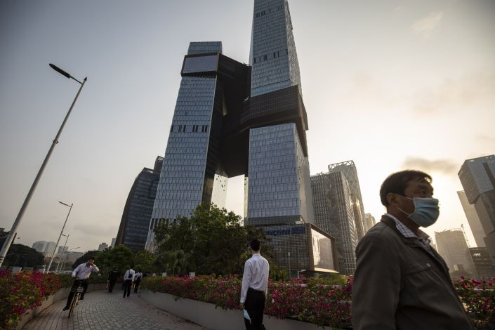 The stock of Chinese internet giant Tencent has tumbled 23% in July. Photo: Bloomberg