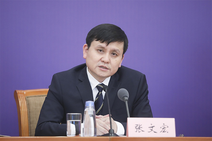 Zhang Wenhong, director of China's National Center of Infectious Diseases. Photo: VCG