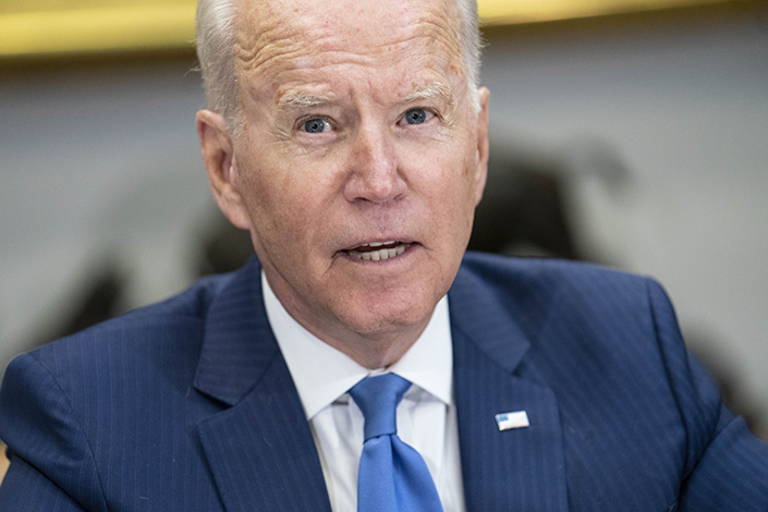 U.S. President Joe Biden. Photo: Bloomberg