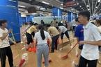 广州一地铁站大量涌水 沿线局部路段停运