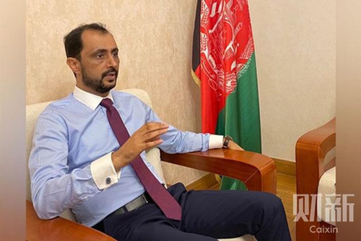Afghan Ambassador to China Javid Ahmad Qaem. Photo: Caixin