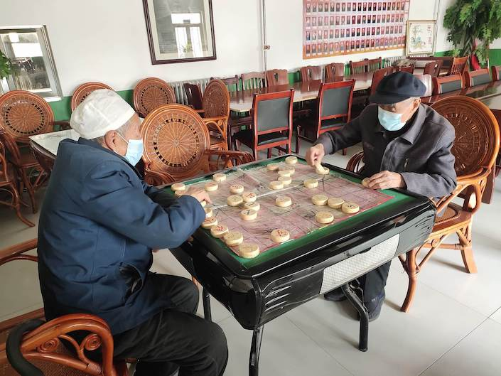 A senior home in Shaanxi.