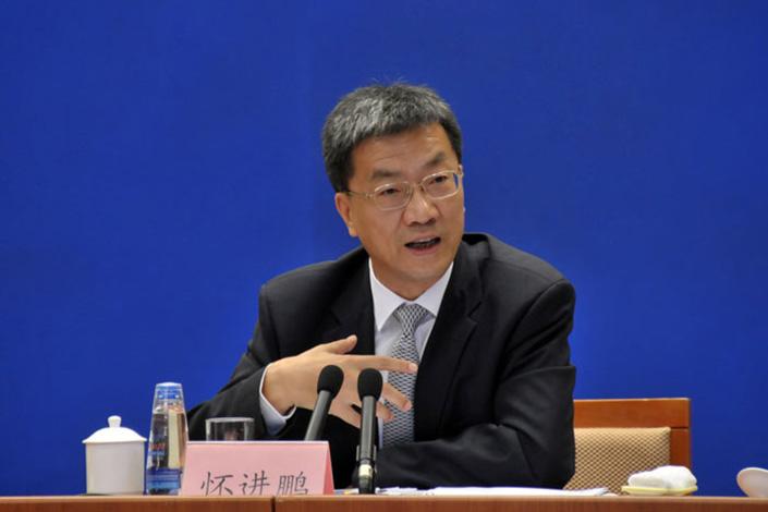 Huai Jinpeng, China's new education minister. Photo: gov.cn